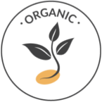 All our ingredients are sourced organically: We are 100% organic.